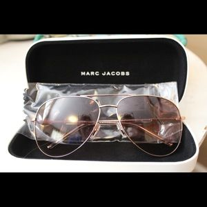Never worn Marc Jacobs aviator sunglasses